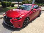 Attention-grabbing Lexus RC350 coupe turns heads