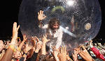 Confetti and fireworks: Flaming Lips spectacle ushers in festival's pyrotechnics finale