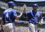 LEADING OFF: Surging Moustakas on pace for career season