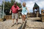 Red Bank replacing Kids Korner playground