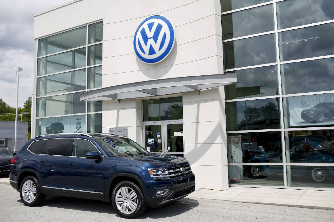 Volkswagen\'s sales take first dip of 2017 | Times Free Press