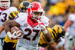 Georgia's Nick Chubb eager to validate his decision to return