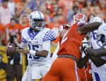 Kentucky quarterback eager to prove more doubters wrong