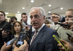 Corker urges Trump to 'fire every single person' suspected of leaking or infighting