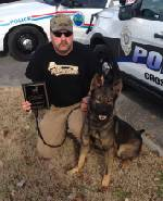 Crossville, Tenn., police dog stabbed to death by suspect