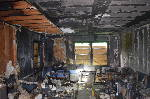 Two Rossville homes destroyed by suspected arsonists; reward offered for information