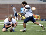 With Henrique Ribeiro gone, UTC's place-kickers work on consistency