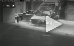 Video shows car's 7-story fall onto SUV