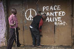 The Latest: Kenya has calm election violence that killed 24
