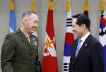 Top U.S. military officer warns North Korea that U.S. military is ready