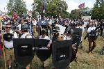 Hate-watch groups agree rally was largest in decade or more