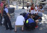 Police: 5th suspect killed in Spain resort town