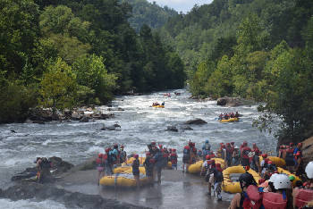 TripAdvisor recommends Ocoee River as top whitewater rafting
