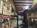 Dynatronics goes electric with warehouse forklifts