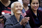 103-year-old Cambodian woman becomes U.S. citizen