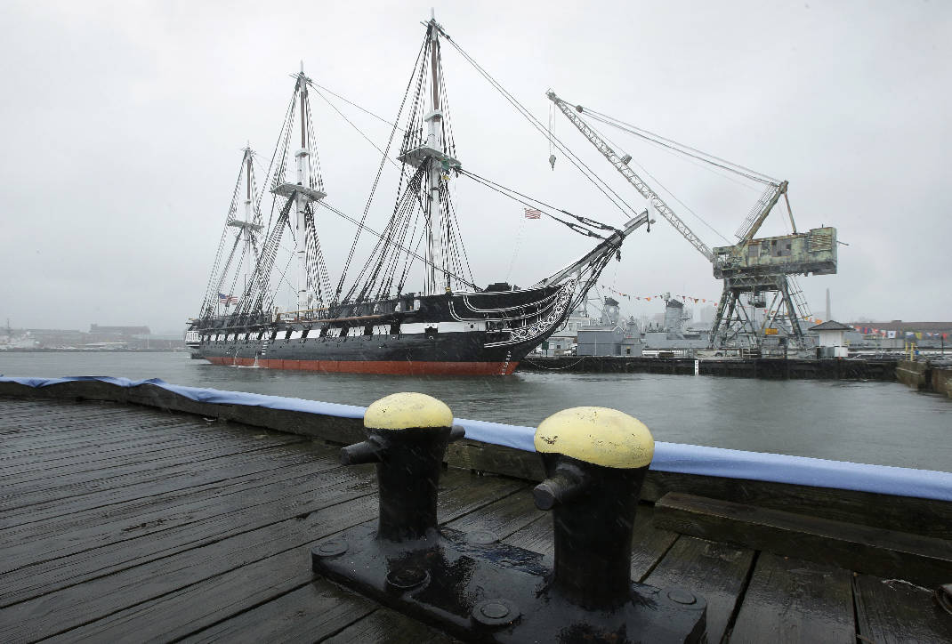 uss constitution in boston reopens for public tours times free press