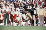 Georgia players have more modern images of Fighting Irish