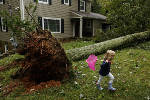 Powerful Irma slams Chattanooga area; region escapes much of expected damage [photos]