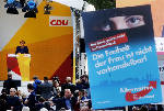 After humdrum German campaign, Merkel hopes for fourth term