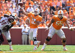 Coach Butch Jones explains misperception about Vols' quarterback play [photos]