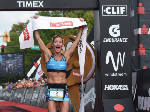 Liz Lyles wins 2017 Ironman Chattanooga with mother cheering her on [photos]