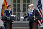 Trump says Spain should stay united, opposes secession vote