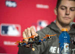 ERA and UFO: Indians pitcher Bauer loses drone in park