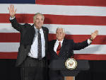 Pence, Bannon campaign for candidates in Alabama Senate race