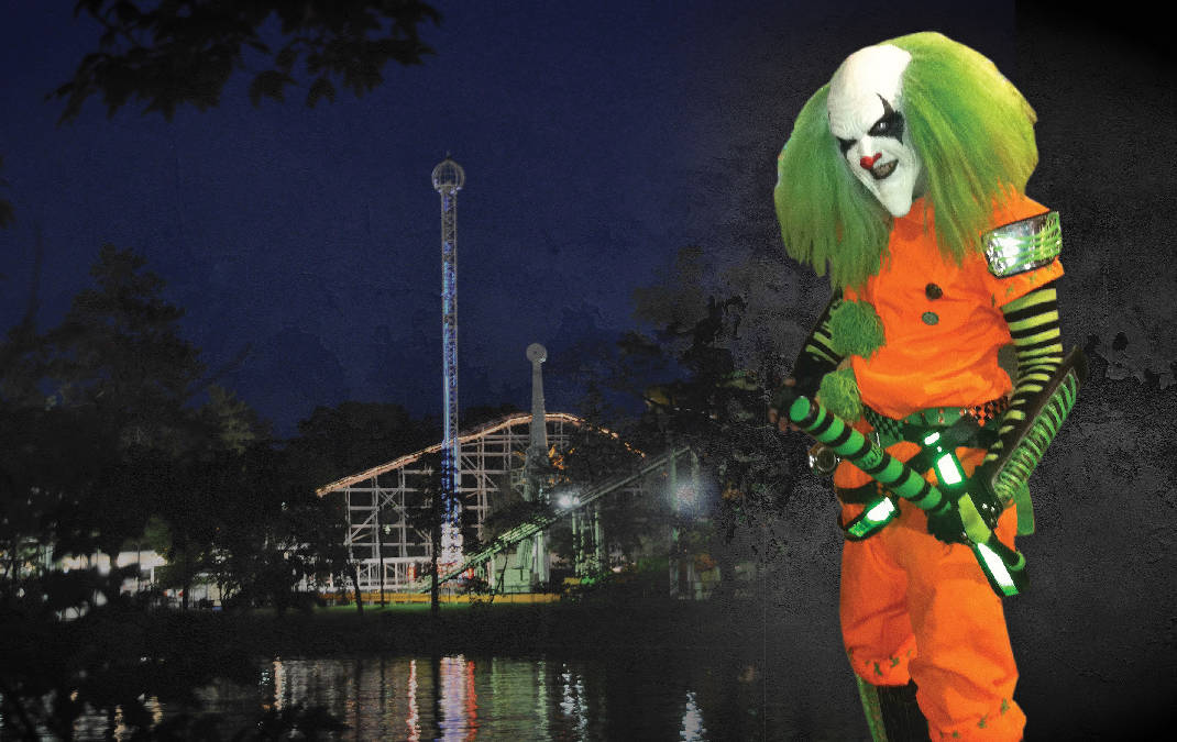 lake winnepespookah halloween haunts take over rossvilles amusement park times free press