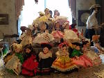 Historic Blunt House displaying over 400 dolls for show