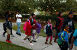 Photo gallery: Making strides for education on International Walk to School Day