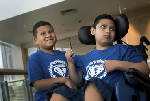 Gene therapy helps boys with