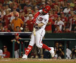 Harper, Zimmerman HRs lift Nats past Cubs 6-3 to even NLDS