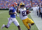 LSU upends No. 21 Florida 17-16 in Swamp