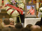 Mourners pay tearful tribute to Vegas victim who saved wife