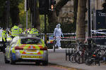 The Latest: London mayor: Some injured in museum car crash