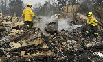 'Catastrophic event': Deadly California fires explode again