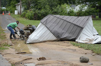 Plan to use Army Corps of Engineers for flood prevention collapses