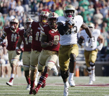 Greeson Prime Time Notre Dame Winless Unc Charlotte Offer Entertaining Options