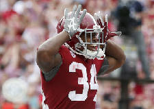 Damien Harris remains a prominent voice for Alabama