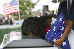 Funeral held for U.S. soldier at center of Trump fight