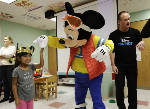 Mickey Mouse, Disney skaters visit kids at Children's Hospital at Erlanger
