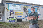 Spray-painted Fort Oglethorpe, Ga., business sign to be downsized