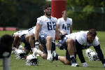 Wiedmer: Former UTC offensive lineman Corey Levin living a dream come true with Titans