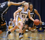 Central Florida steals win from UTC women, 58-57