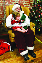Send us your photos of your kids with Santa