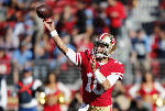 Jimmy Garoppolo leads 49ers to third straight win, topping Titans 25-23