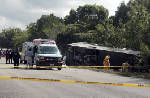 Twelve killed as bus carrying foreign tourists crashes in Mexico