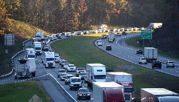 Chattanooga interchange 11th worst in nation, study says | Times