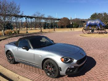 Quick Spin Fiat 124 Spider A Light And Lively Two Seater